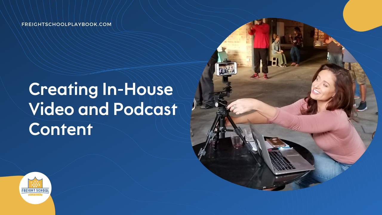 Creating In House Video Podcast